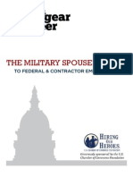 Military Spouse Federal Employment Guide