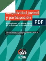 Subjetividad juvenil y Participación
