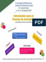 Proceso de Inscripción Jornada FCS