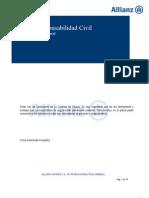 Condicionado Allianz RC Extracontractual General