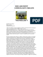 DID ANCIENT BIOTECHNOLOGY CREATE NEPHILIM