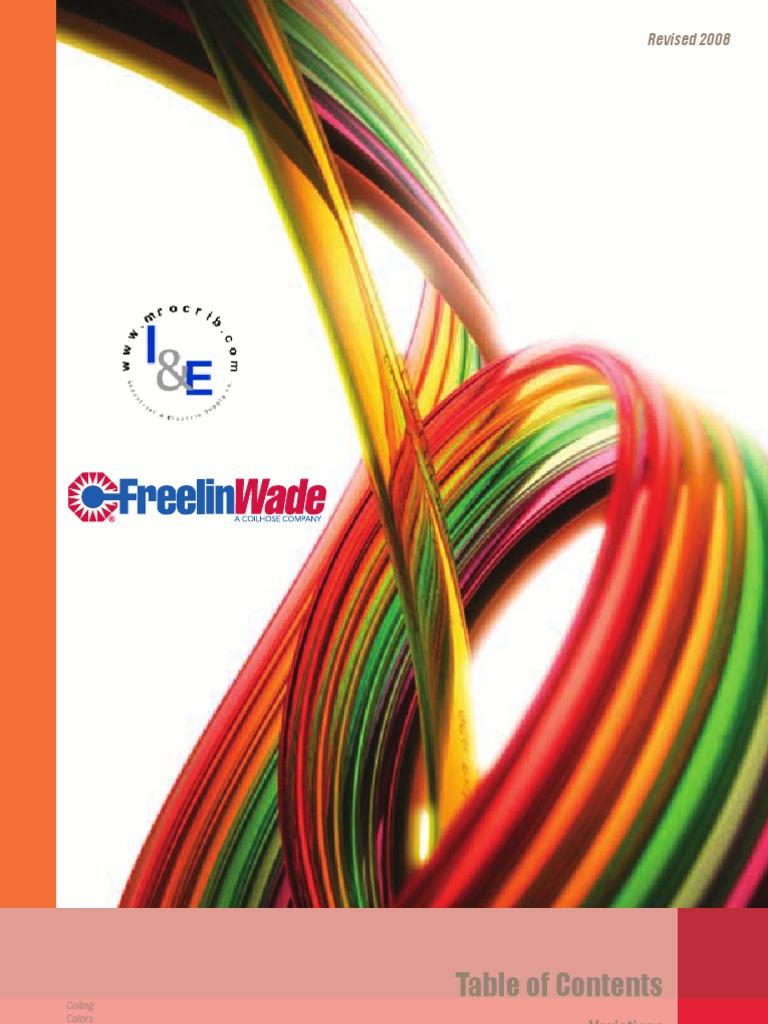 "FW Freelin-Wade 1J-169-11 White Polyurethane Tubing Tube 100 Ft OD 1//4/"" ID 1//8/"""