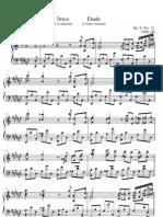 Scriabin Etude Op. 8 No. 12