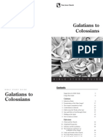 GalatiansToColossians