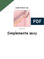 Linda Francis Lee Trilogia Sexy 03 Simplemente Sex