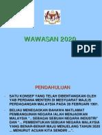 WAWASAN 2020 VERSI 1.0