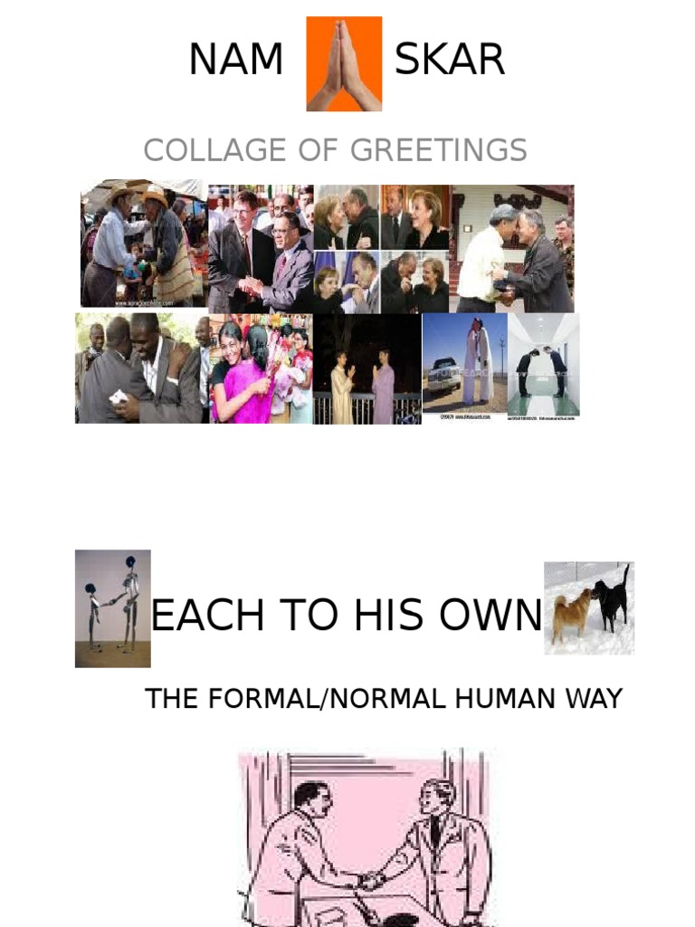Ppt On Greeting One Another