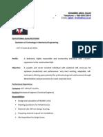 resume ...(1)new (2)