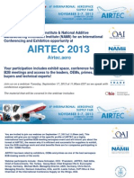 OAI NAMII Airtec Exhibition Trade Show
