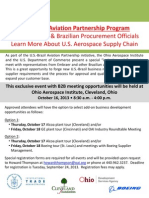 US Brazil Aviation Partnership Program - Embraer Ohio Visit