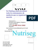 NOM-001-SSA1-2011
