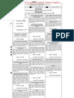 2013 regular municipal election sample ballot