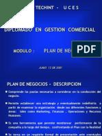 Plan de Negocios- Presentacion
