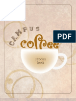 Campus Coffee process book