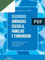 Jornada Esc Flias y Comun 19 Sept CUADERNILLO