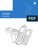 Motorola MC3090 G Product Manual