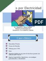 Lesiones x Electricidad Hcg