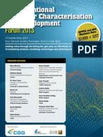 Unconventional Reservoir Characterisation and Development Forum