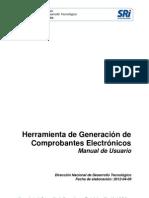 Comprobantes Electronicos-Manual de Usuario v1 0 0