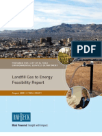 Unknown - 2008 - Landfill Gas to Energy Feasibility Report