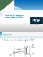 Dist-017H Sour Water Stripper