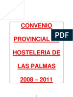 CONVENIO HOSTELERIA LAS PALMAS TEXTO 2008 - 2011 - FIRMA 28-07-08 _2_ _3_