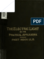 the Electric Light in Its Practical Application 187