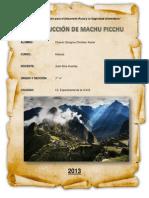 Construcción de Machu Picchu