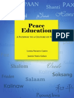 Peace Education - A Pathway to a Culture of Peace