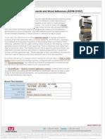 ASTM D1037 Internal Bond Test