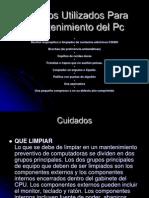 productosutilizadosparaelmantenimientodelpc-100713163203-phpapp02