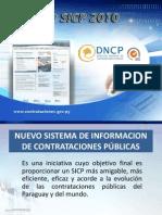 Sistema de Informaci+¦n de Contrataciones P+¦blicas