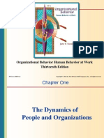 Chap001-The Dynamics of People and Organizations