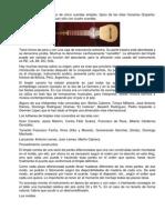 Historia Del Timple Canario