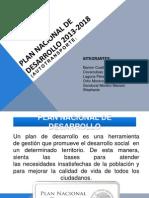 Plan Nacional de Desarrollo (Autotransporte)