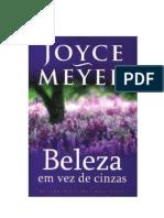 Joyce Meier - Beleza Em Vez de Cinzas