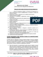 Requisitos Para La Habilitacion de Establecimientos de Salud Copy