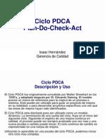 Entrenamiento Ciclo PDCA
