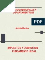 Impuestos Municipales y Departamentales Cartagena 2009
