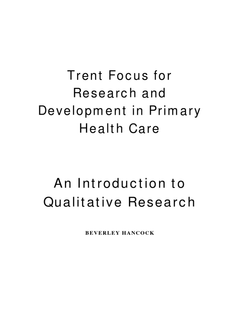 Quotes On Research Qualitative Research  Qualitative Research  Focus Group