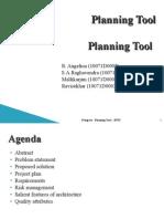 Planning Tool 1