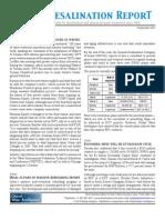 Water Desalination Report
