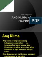 ANg Klima ng Pilipinas