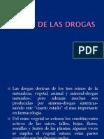 Origen de Las Drogas