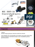 DEE 3323.15 Electrohydraulic