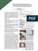 Water Journal Desalination Plants