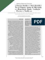 Avaliação da Função Sistólica e Sisto-diastólica