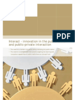 Interact - Innovation in the Public Sector and Public-private Interaction