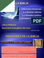 Unidad I La Biblia