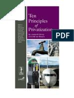 Ten Principles of Privatization